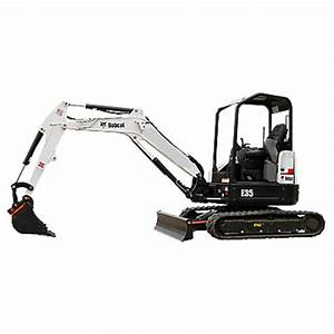 Bobcat E35 <br>	Minimum: 275$ 	    24 Hour: 375$ 		Weekend: 560$ <br> (add 10% damage Waiver Fee)