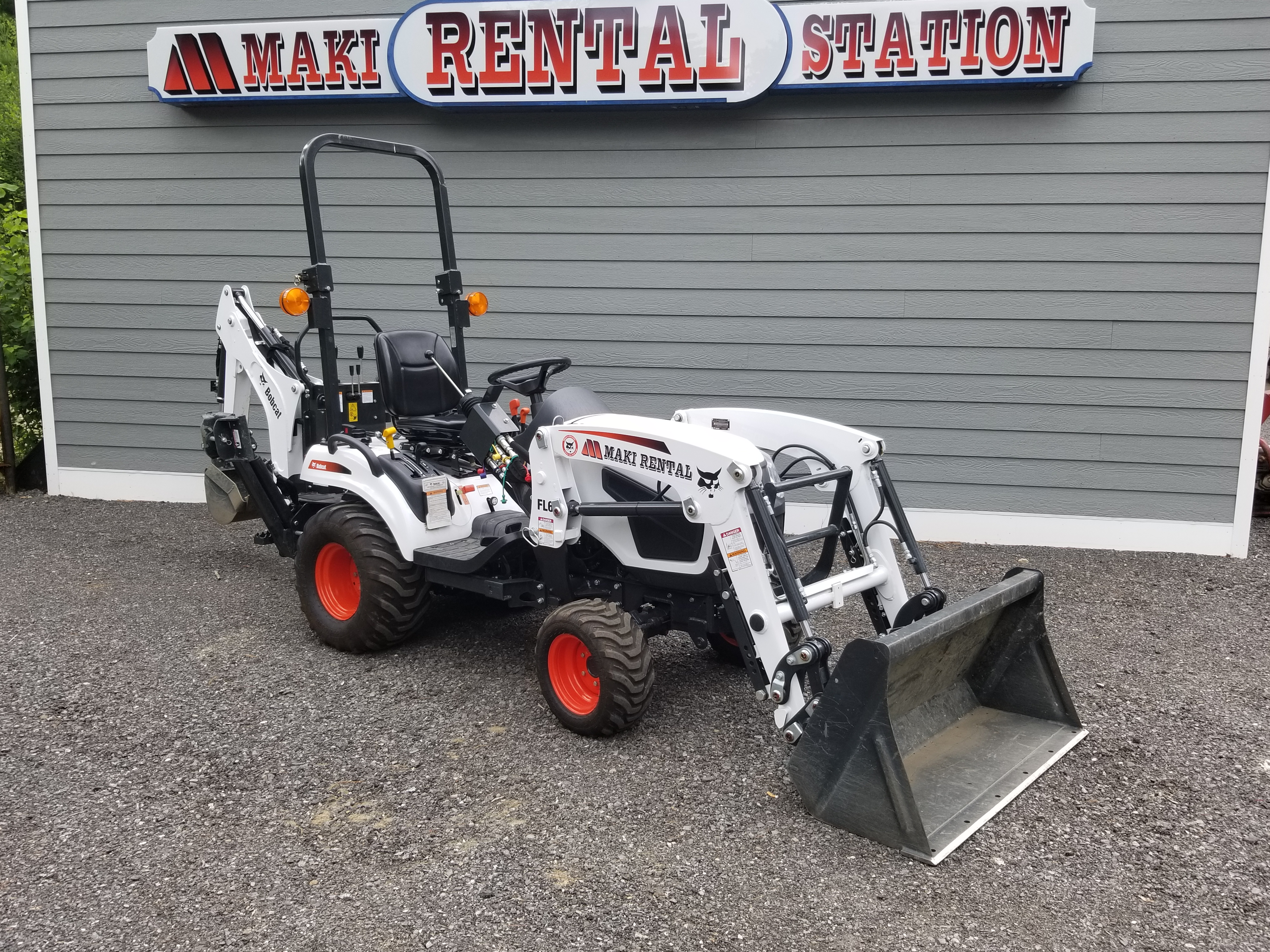 Bobcat CT1025 <br> Minimun: $200 Day: $275 Weekend: $412.50 <br>  (add 10% damage Waiver Fee)