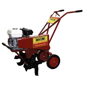 Commercial Tiller <br> Minimum: 45$ 		Day: 60$ 		Weekend: 80$ <br>  (add 10% damage Waiver Fee)